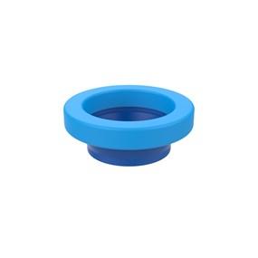 Anel de vedação com guia para vaso sanitário