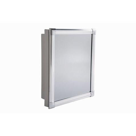 Armário Astra alumínio 36x45x10 AL43