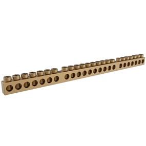 Barramento Tigre kit p/ caixa de distribuição 18/24 disjuntores