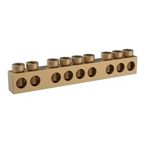 Barramento Tigre kit p/ caixa de distribuição 6/8 disjuntores
