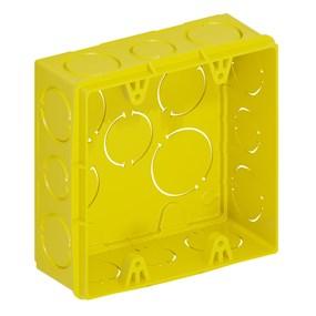Caixa de luz 4x4 Tigreflex amarela