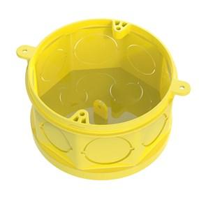 Caixa de luz octogonal fundo móvel Tigreflex Amarela