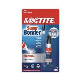 Cola Super Bonder Loctite 3g