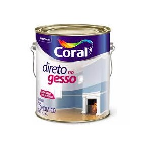 Coral Direto no Gesso 3,6L Branco