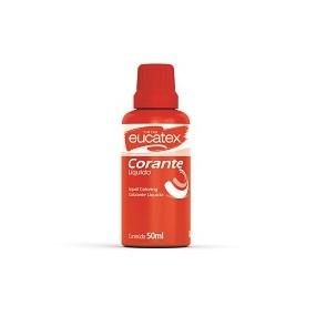 Corante Eucatex Vermelho