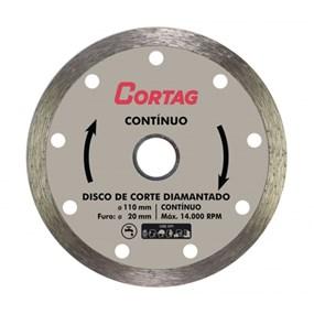 Disco diamantado contínuo Cortag p/ piso/azulejo
