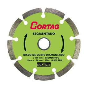 Disco diamantado segmentado Cortag para concreto