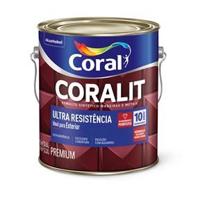 Esmalte sintético Coralit acetinado 3,6L branco