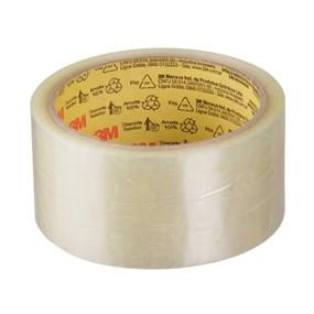 Fita adesiva transparente p/ embalagem 45x45