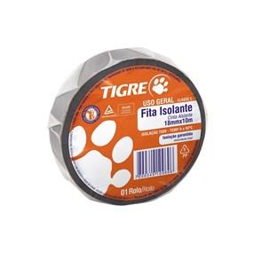 Fita isolante Tigre 10m Uso Geral