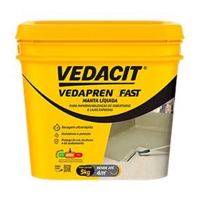 Manta líquida Vedapren Fast branco 5kg